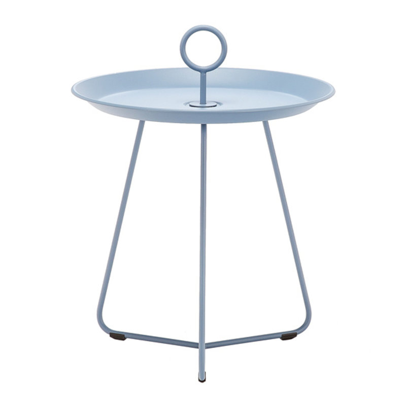 Houe-collectie EYELET Tray Table ø45 cm Pigeon blue