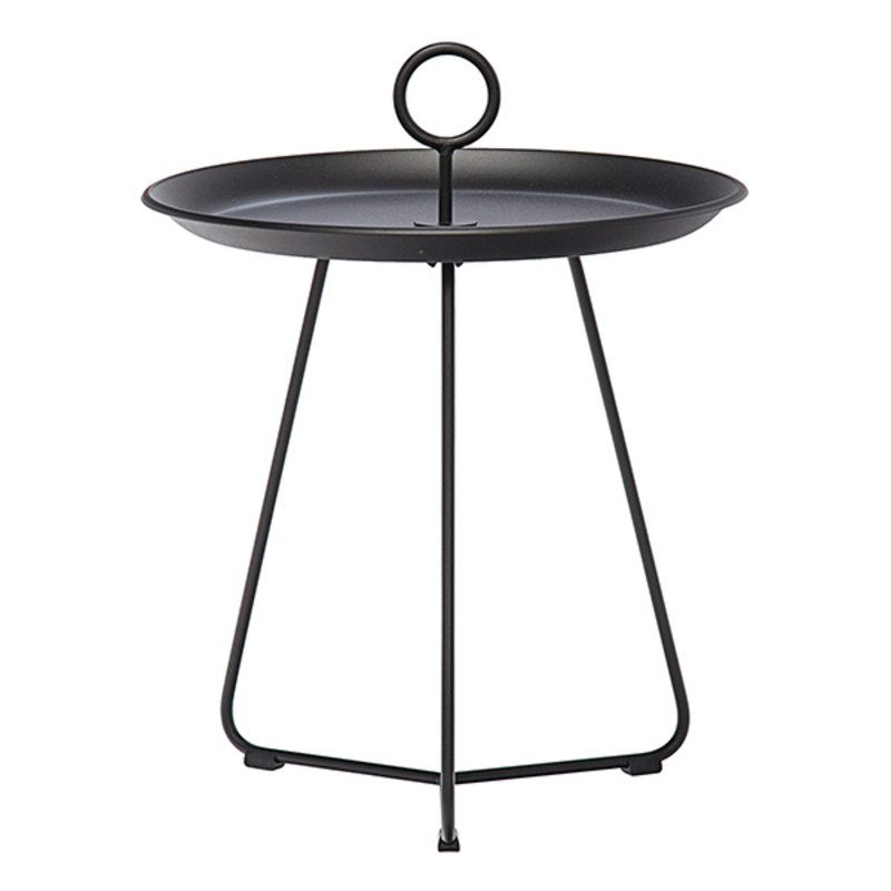 Houe-collectie EYELET Tray Table Ø45 cm Black