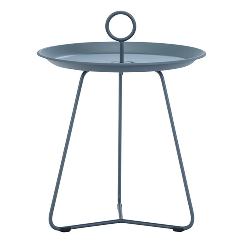 Houe-collectie EYELET Tray Table ø45 cm Midnight Blue