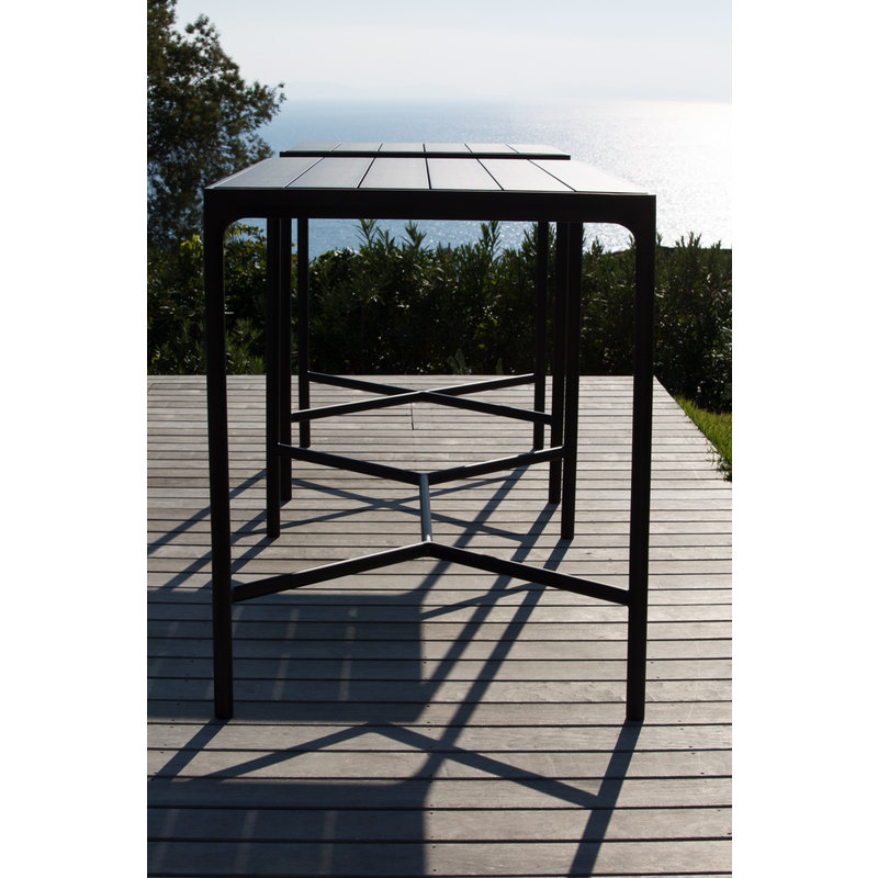 Houe-collectie FOUR bartafel 90x90 cm zwart
