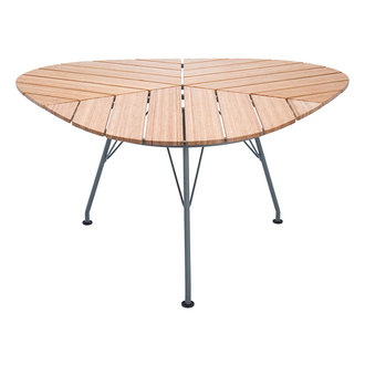 Houe LEAF outdoor dining table bamboo