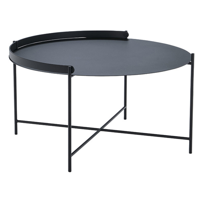 Houe-collectie EDGE Tray table Ø76 Black