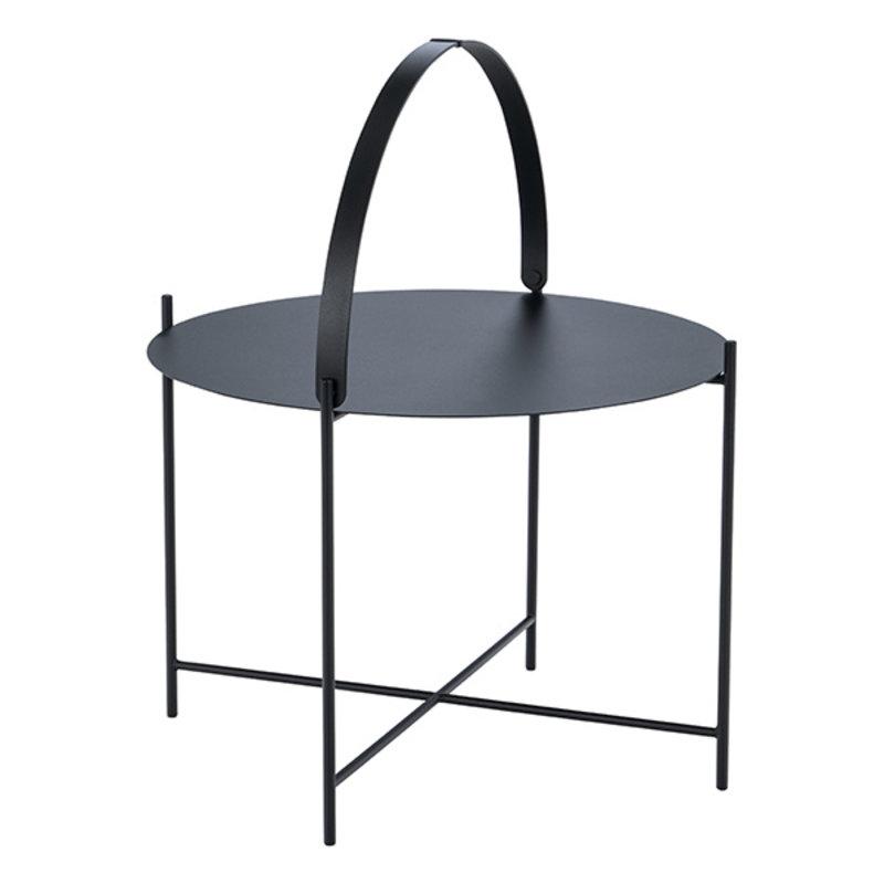Houe-collectie EDGE Tray table Ø62 Black