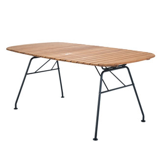 Houe BEAM outdoor dining table bamboo