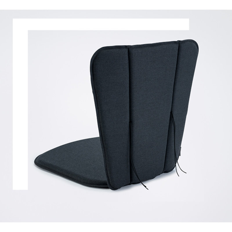 Houe-collectie PAON Cushion Dining Chair, Carbon Grey