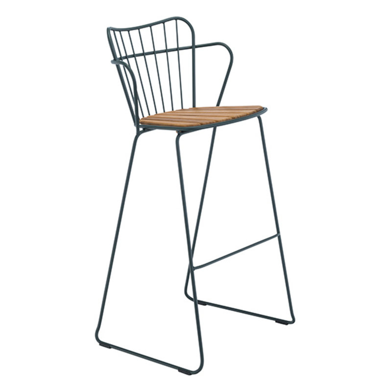 Houe-collectie PAON Bar Chair, Pine Green