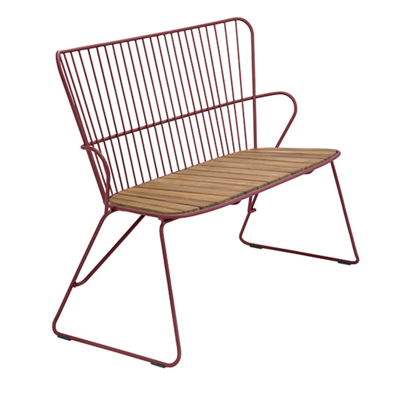Houe-collectie PAON Bench, Paprika