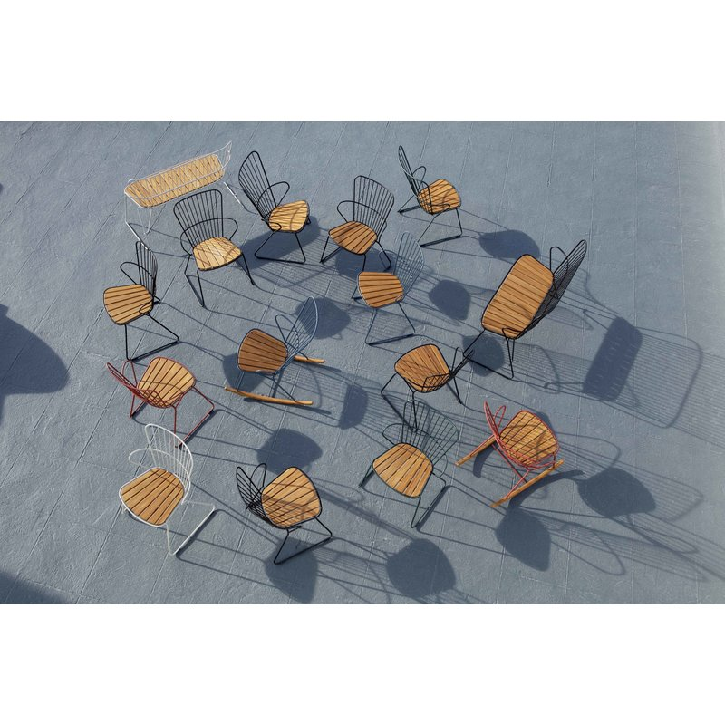Houe-collectie PAON Rocking Chair, Paprika