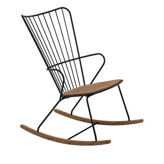 Houe PAON schommelstoel zwart