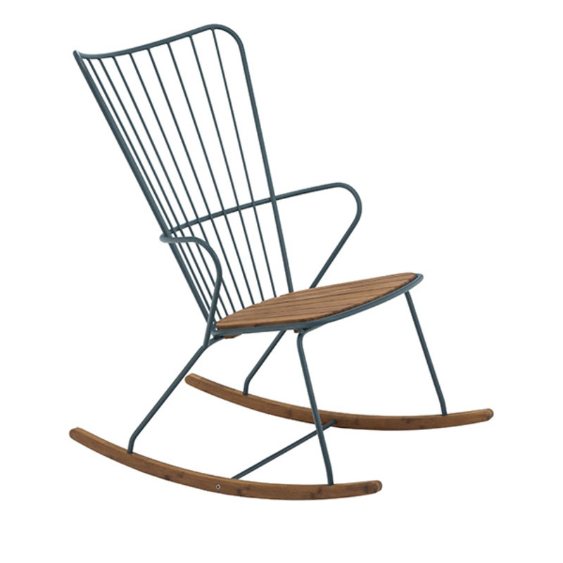 Houe-collectie PAON Rocking Chair, Pine Green