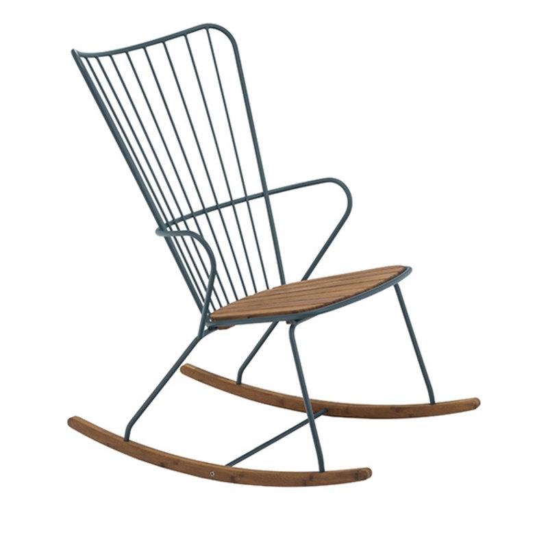 Houe-collectie PAON schommelstoel donkergroen