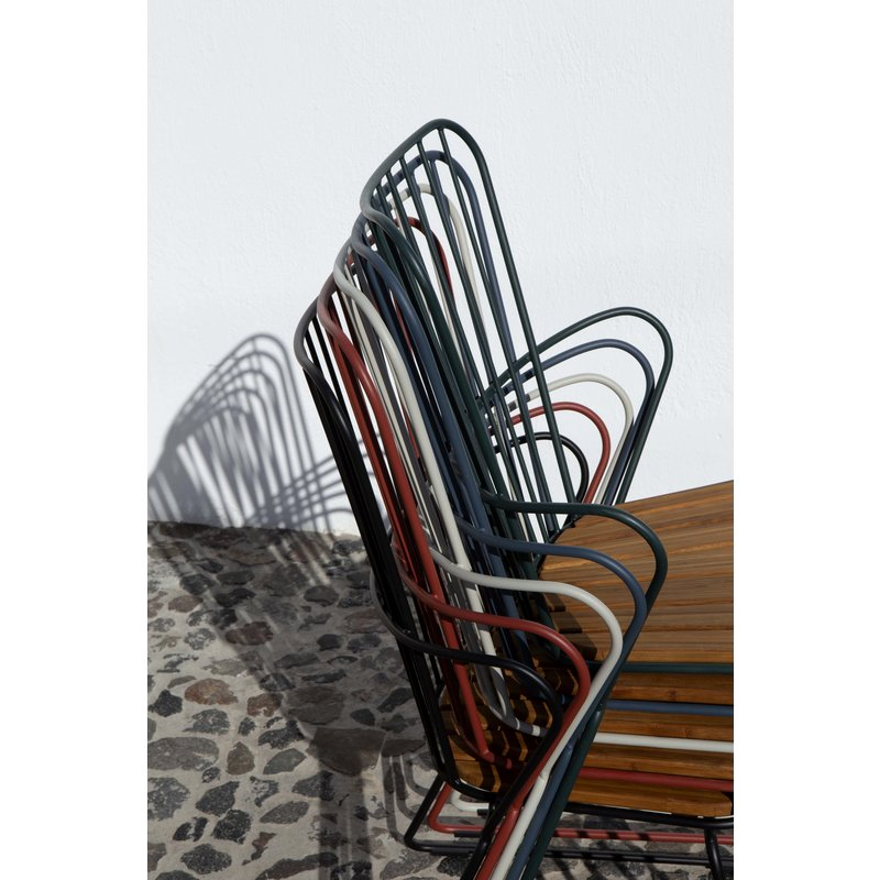 Houe-collectie PAON lounge stoel zwart