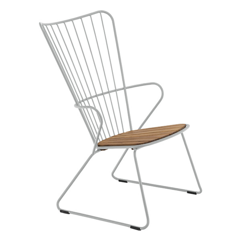 Houe-collectie PAON Lounge Chair, White Taupe