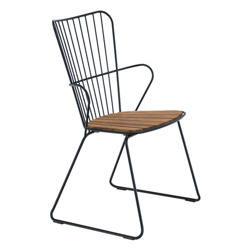Houe-collectie PAON Dining Chair, Black
