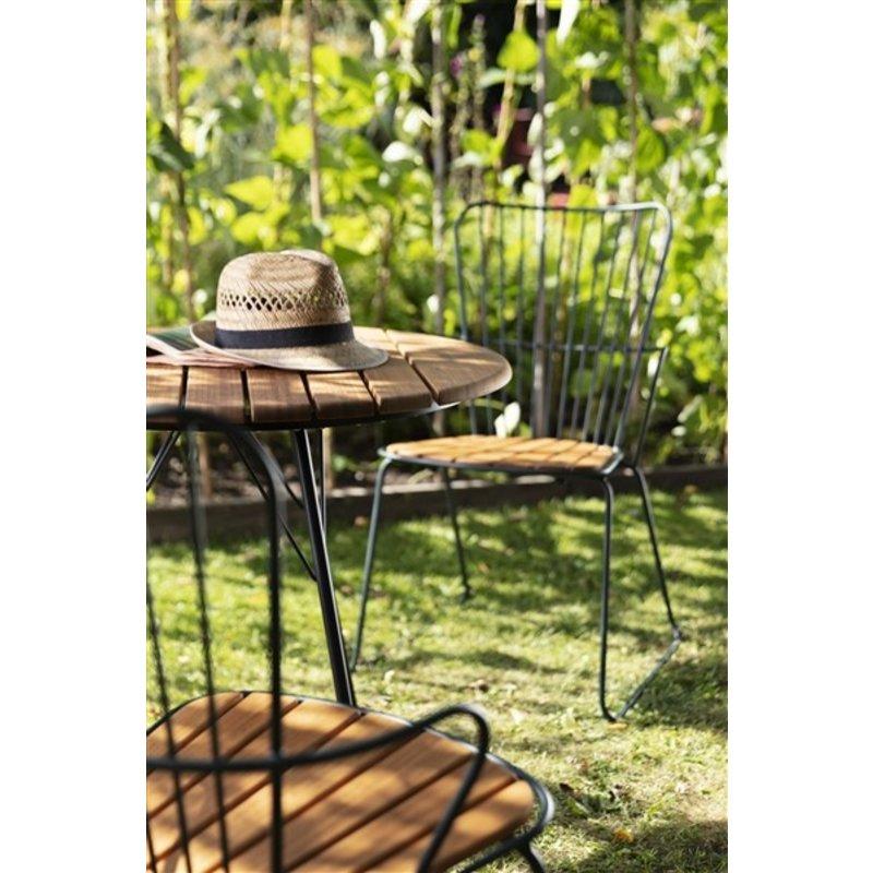 Houe-collectie PAON tuinstoel donkergroen