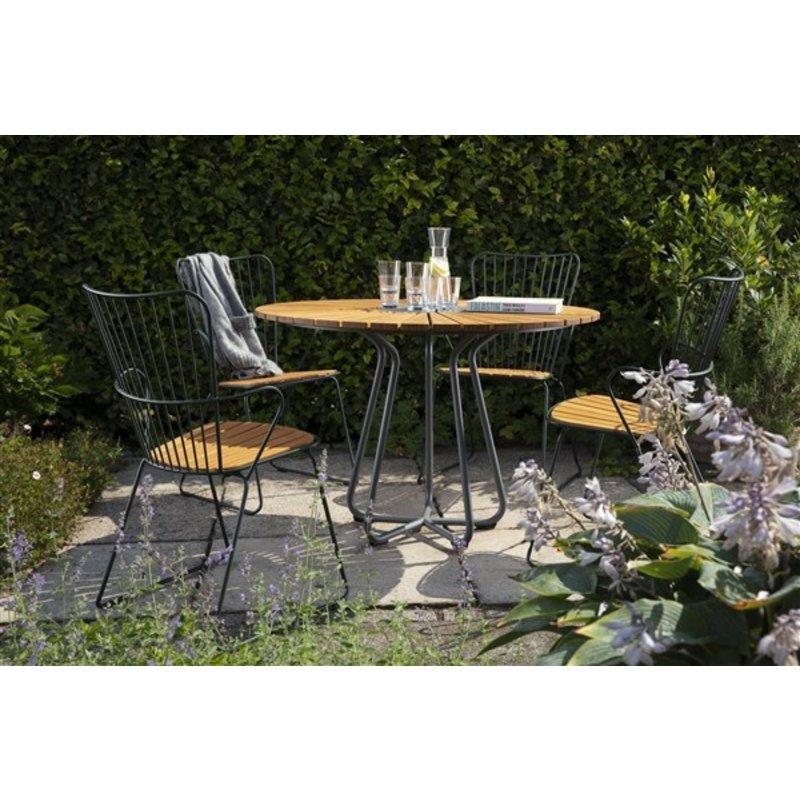 Houe-collectie PAON tuinstoel donkerblauw