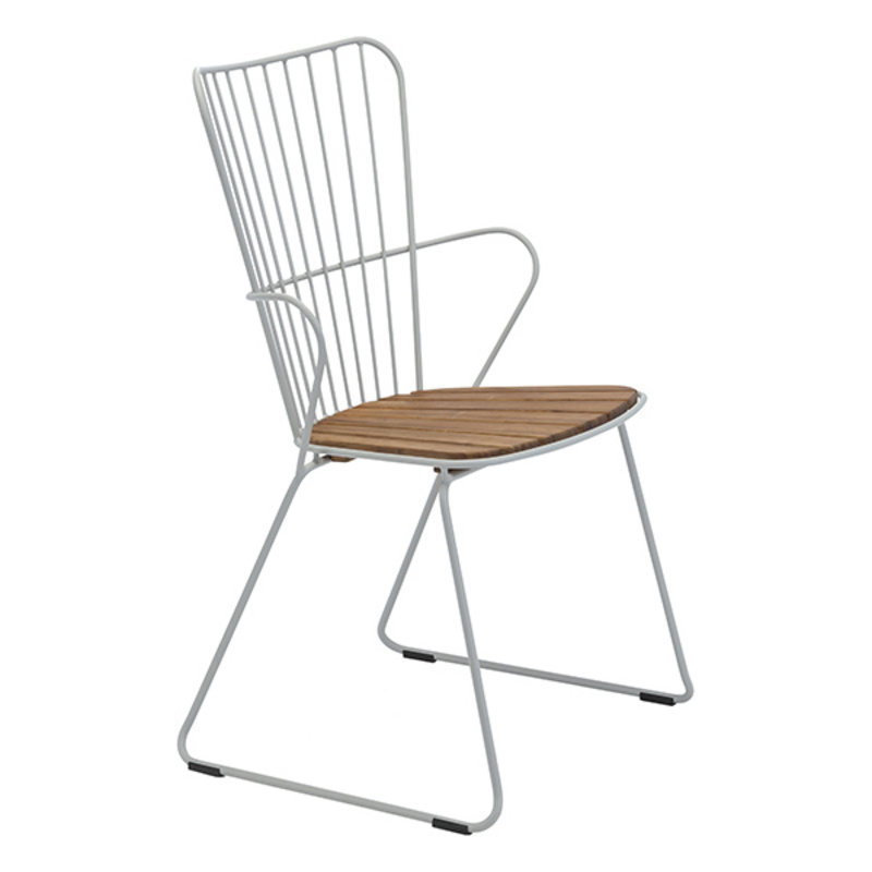 Houe-collectie PAON Dining Chair, White Taupe