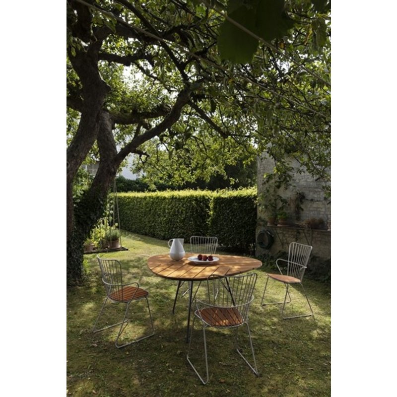 Houe-collectie PAON tuinstoel taupe