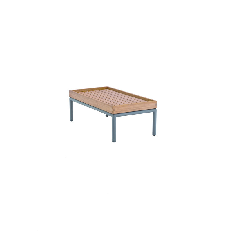 Houe-collectie LEVEL lounge sidetable bamboo