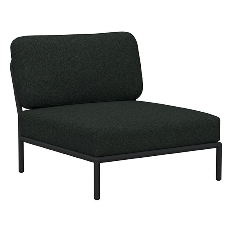 Houe-collectie LEVEL lounge stoel Alphine Green