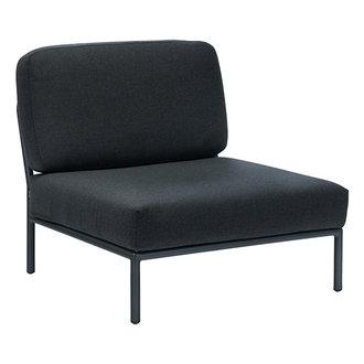 Houe LEVEL lounge stoel donkergrijs