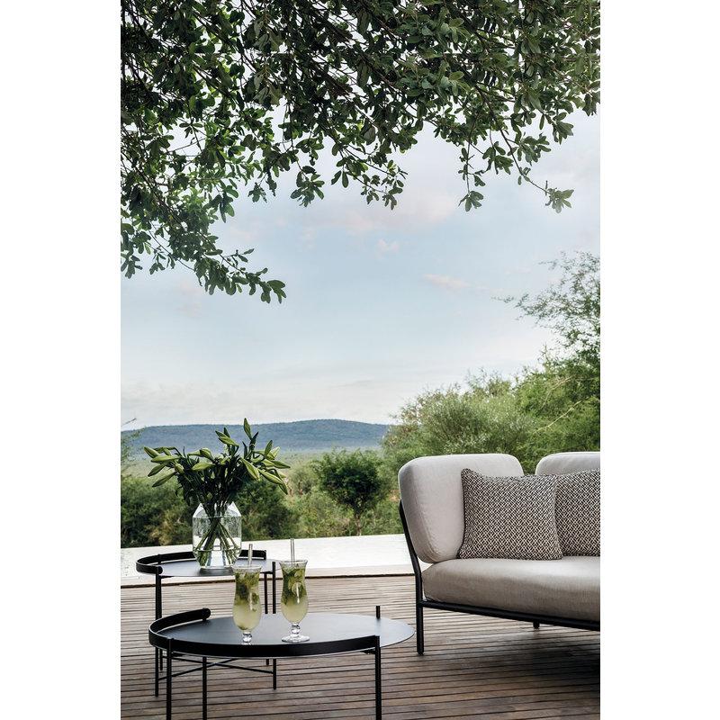 Houe-collectie LEVEL lounge sofa left corner Ash