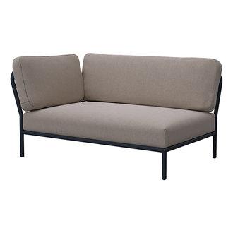 Houe LEVEL lounge sofa left corner Ash