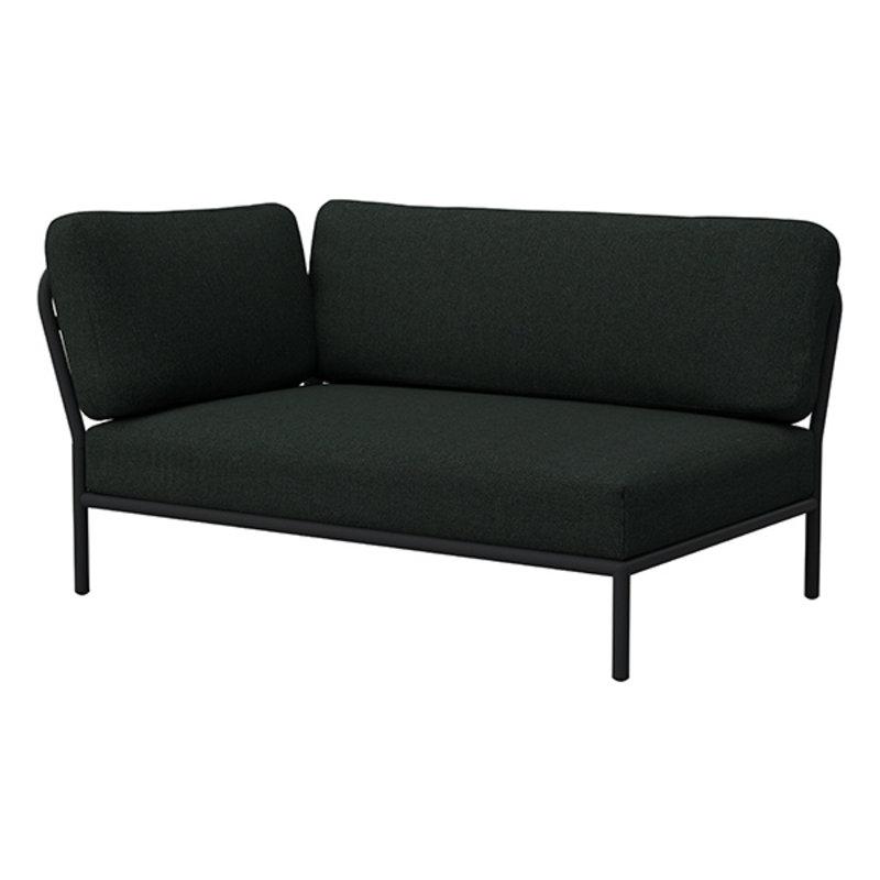 Houe-collectie LEVEL lounge sofa left corner Alphine Green