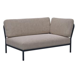 Houe LEVEL lounge sofa right corner Ash