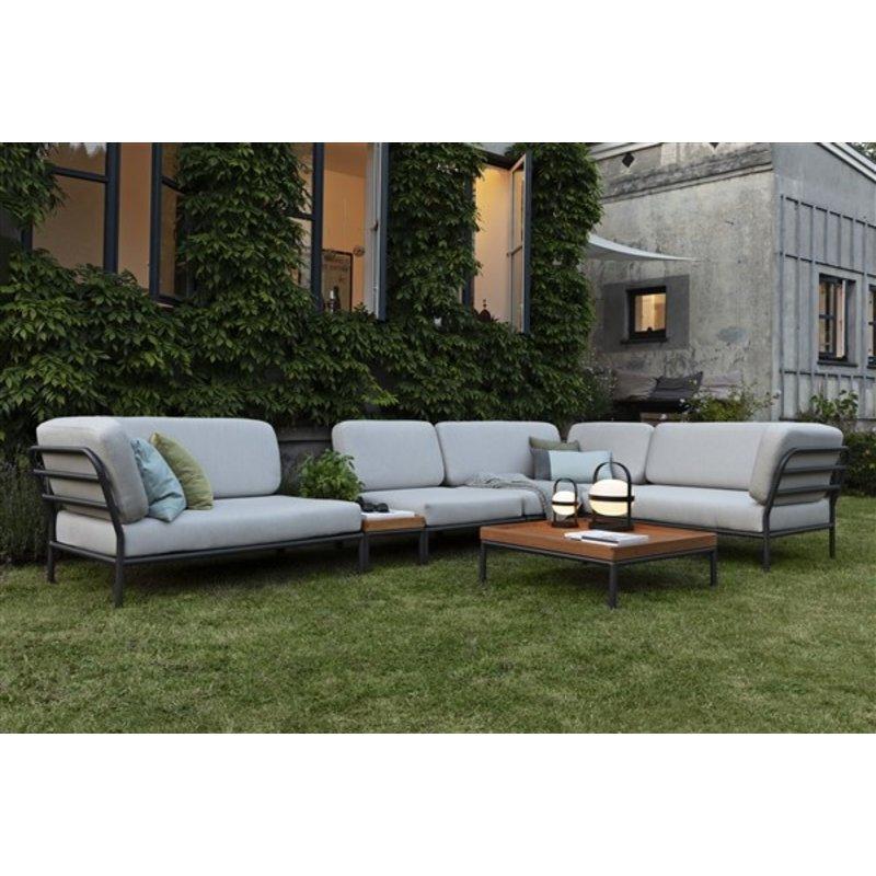 Houe-collectie LEVEL lounge sofa right corner Ash
