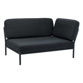 Houe LEVEL lounge sofa right corner Sooty grey