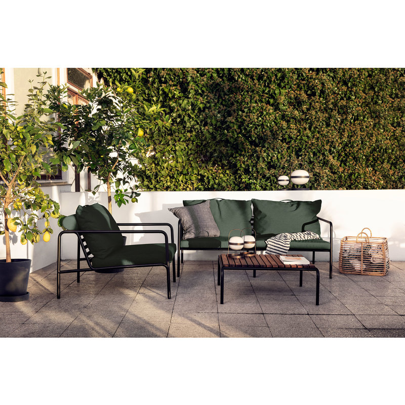 Houe-collectie AVON lounge stoel Alphine Green