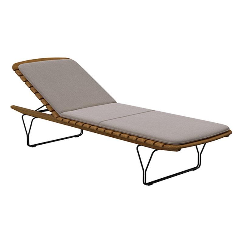 Houe-collectie MOLO sunbed cushion Ash