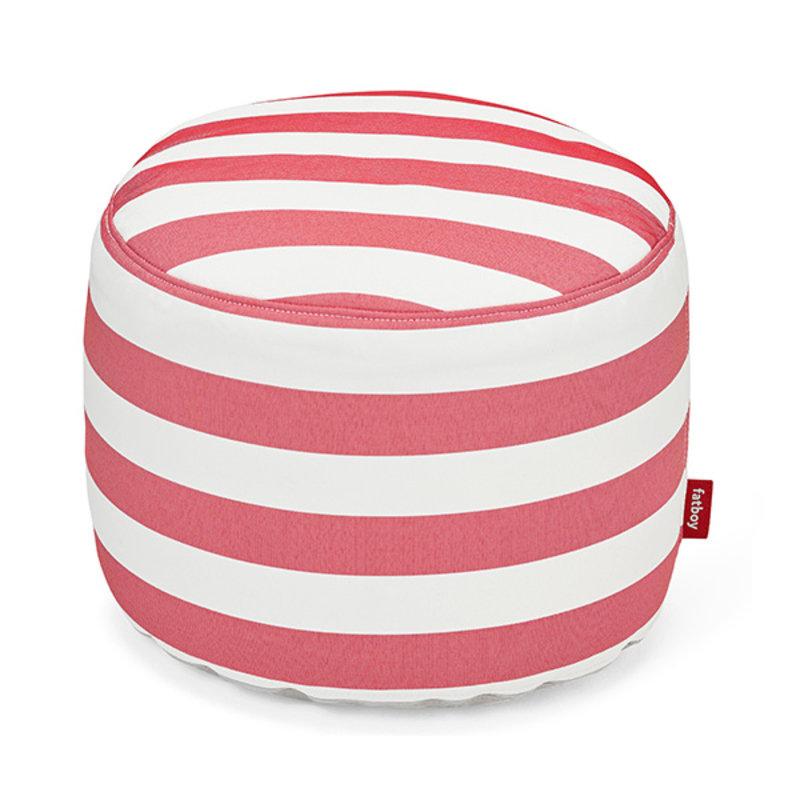 Fatboy-collectie Point outdoor poef stripe rood