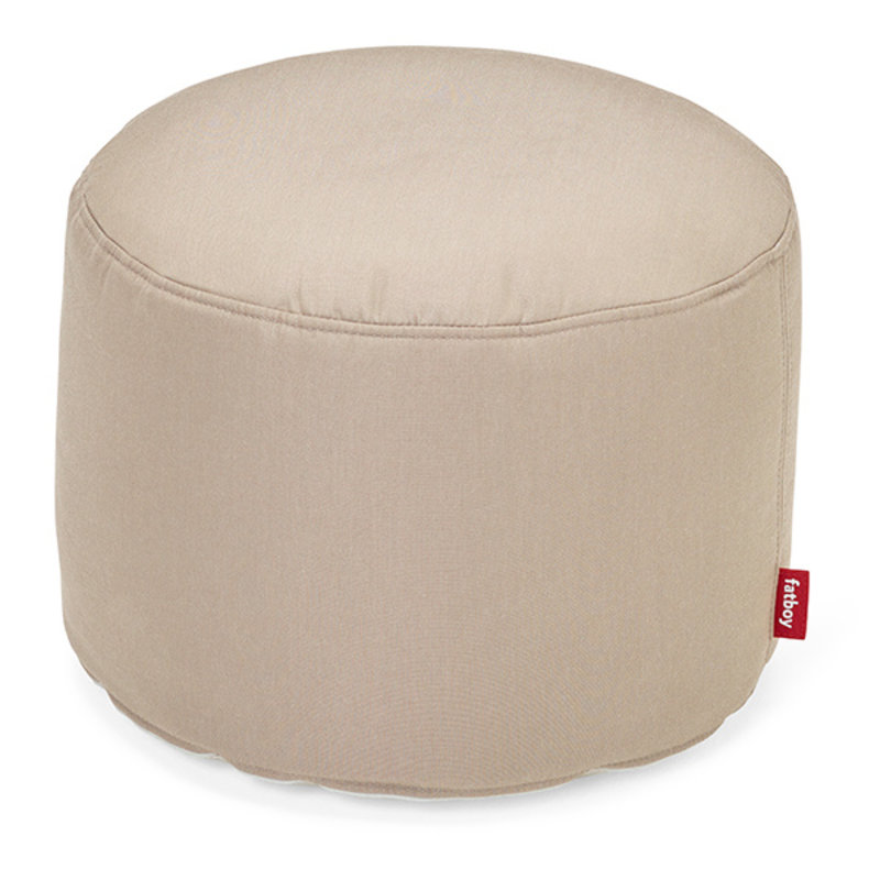 Fatboy-collectie Point outdoor poef sandy taupe