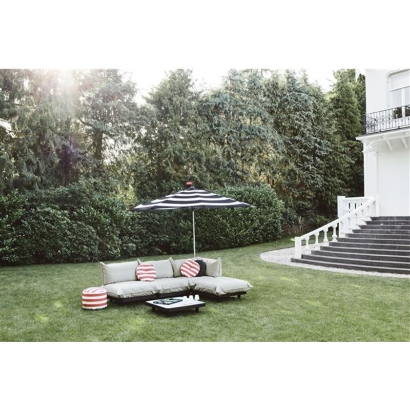 Fatboy-collectie Point outdoor poef charcoal