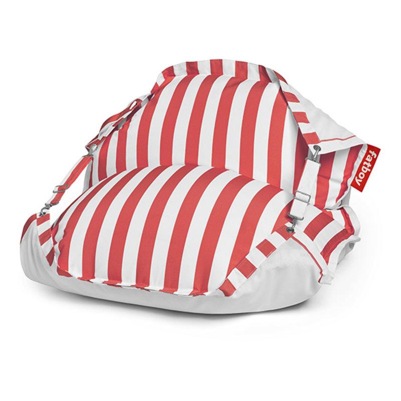 Fatboy-collectie Original Floatzac drijvende waterzitzak stripe rood