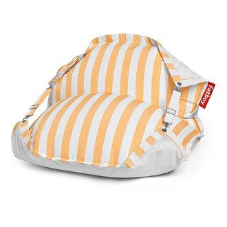Fatboy Original Floatzac drijvende waterzitzak stripe geel