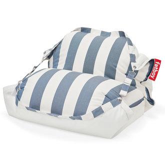 Fatboy Original Floatzac drijvende waterzitzak stripe Ocean blue