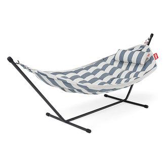 Fatboy Headdemock superb incl. rack & pillow stripe ocean blue