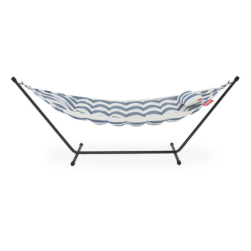 Fatboy-collectie Headdemock superb hangmat incl. kussen stripe ocean blue