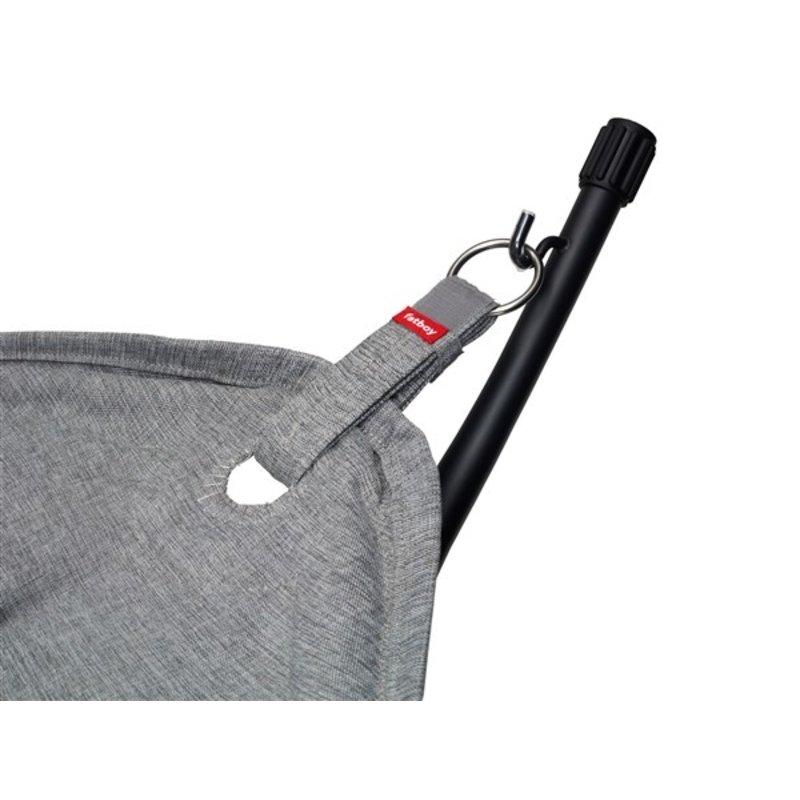 Fatboy-collectie Headdemock superb incl. rack & pillow rock grey