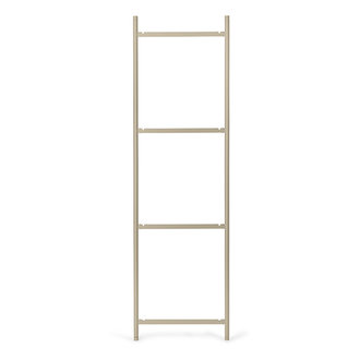 ferm LIVING Punctual shelving system ladder 4 cashmere