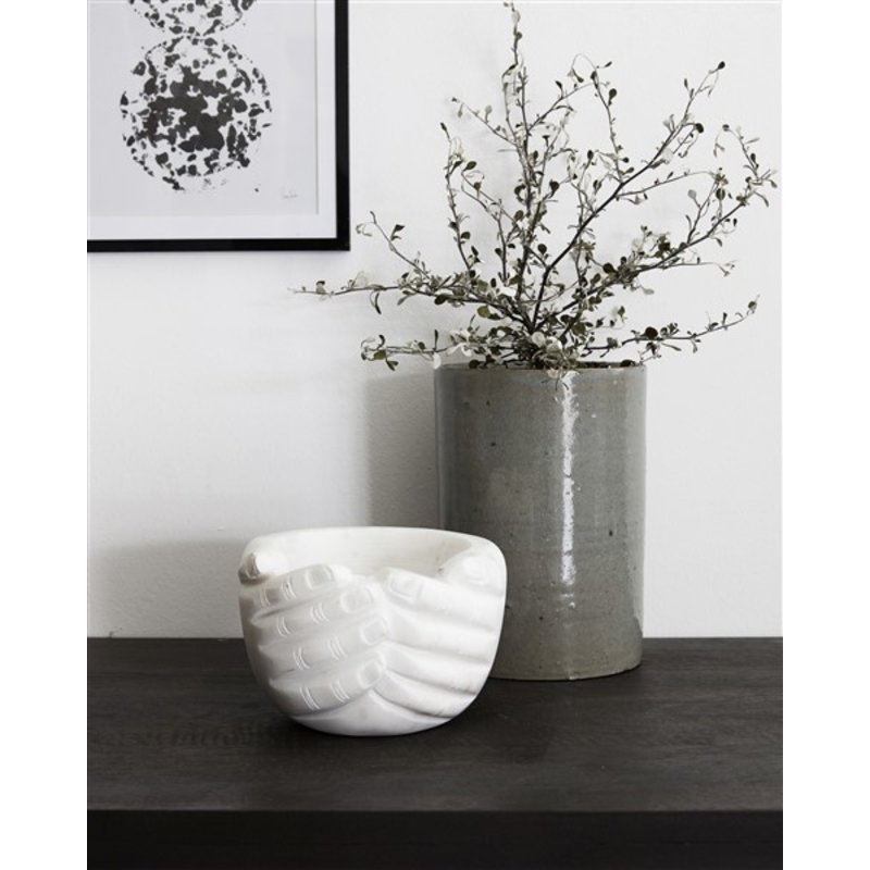 House Doctor-collectie Marble bowl Hands