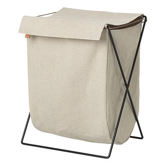 ferm LIVING Laundry basket on stand Herman