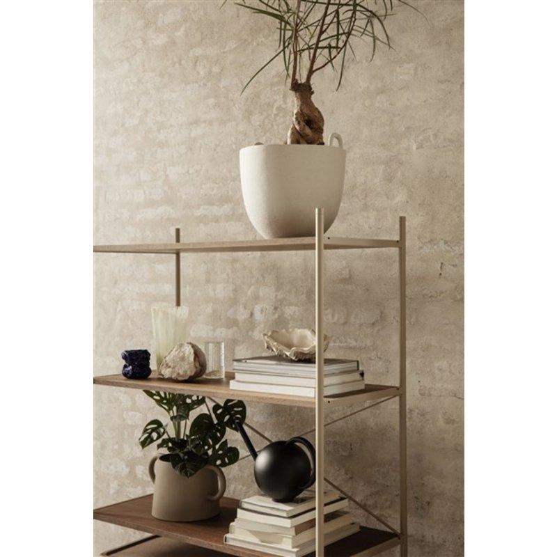 ferm LIVING-collectie Punctual wooden shelf natural oak/cashmere
