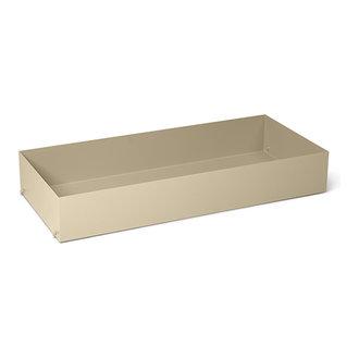 ferm LIVING Punctual shelving system metal box cashmere
