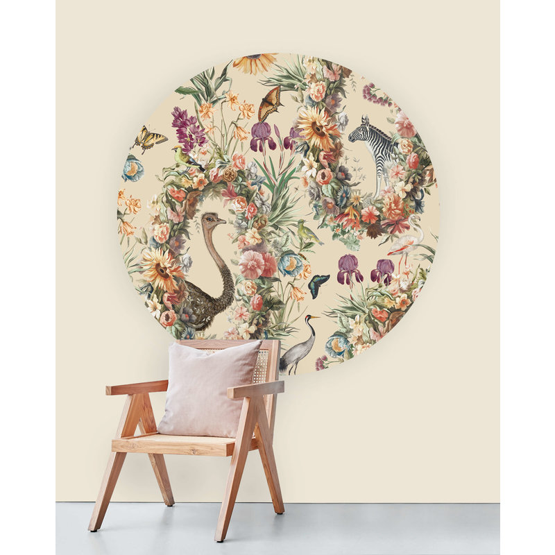 Creative Lab Amsterdam-collectie Wallpaper Circles never ending story