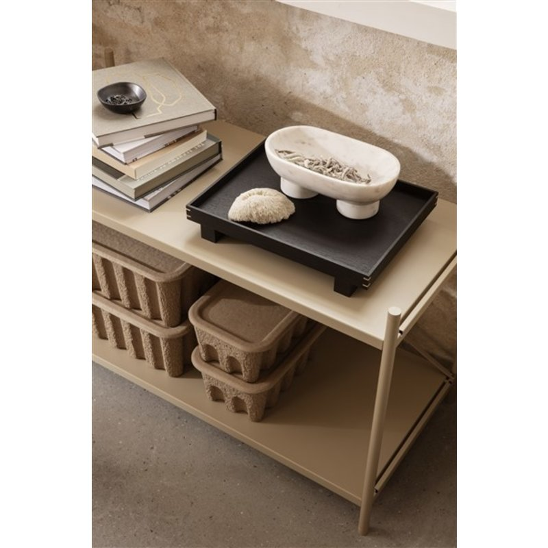 ferm LIVING-collectie Punctual shelving system cross cashmere