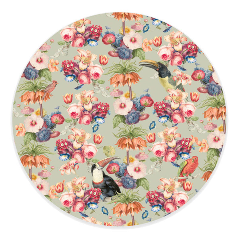 Creative Lab Amsterdam-collectie  Wallpaper Circle Once Upon A Time